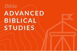 Seminary: Advanced Biblical Studies